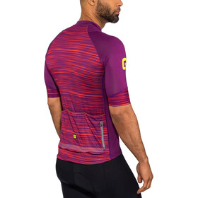 Alé Cycling Graphics PRR End Maillot manches courtes Homme, purple-red